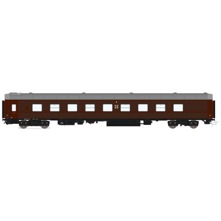 HNoll HN-1112AC Liggvagn BC4R 5434 SJ Brun