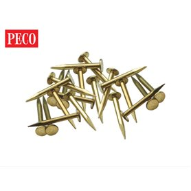 Peco IL-11 Track Nails Brass