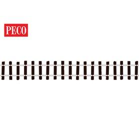 Peco SL-500 Flexräls träslipers, längd 914 mm, code 100