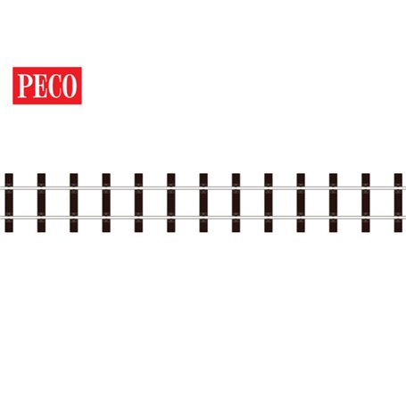 Peco SL-600 Flexräls, träslipers, längd 914 mm