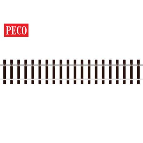 Peco SL-800 Flexräls, träslipers, längd 914 mm