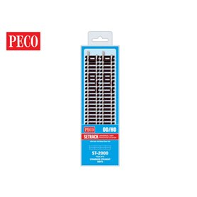 Peco ST-2000 Standard Rak 168 mm, 8 st