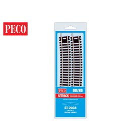 Peco ST-2038 Specialkurva, 185 mm, radie 429,8 mm, 2 st