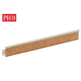 Peco LK-60 Platform Edging, Brick
