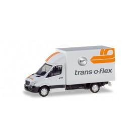 "Herpa 094542 Mercedes-Benz Sprinter box ""Trans-O-Flex"""