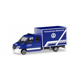 "Herpa 094559 Mercedes-Benz Sprinter '13 box ""THW Munich Region"""