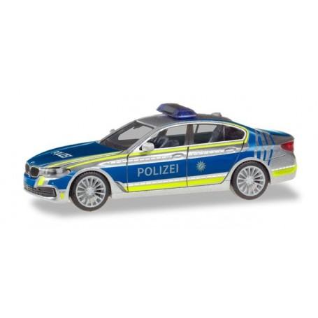 Herpa 094566 BMW 5 Series Sedan ?Driver guide vehicle Police Munich?