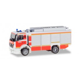 Herpa 094634 Mercedes-Benz Axor RW2 heavy rescue vehicle ?Fire brigade Düsseldorf?