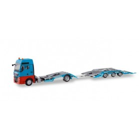 "Herpa 310406 MAN TGX XXL truck transporter trailer ""Mosolf"""