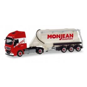 """Herpa 310451 Iveco Stralis XP bulk silo semitrailer """"Monjean"""""""