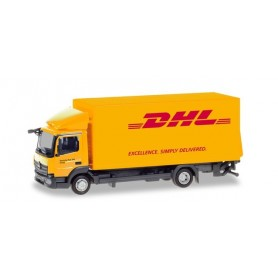 "Herpa 310505 Mercedes-Benz Atego box truck with liftgate ""DHL"""