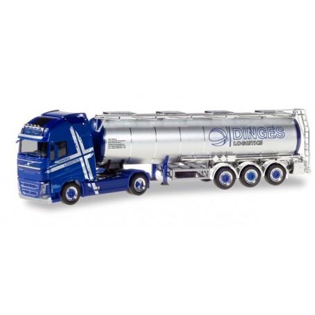 Herpa 310543 Volvo FH Gl. XL fuel tank semitrailer ?Ingo Dinges?