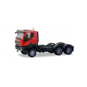 Herpa 310581 Iveco Trakker tractor 6×6, red