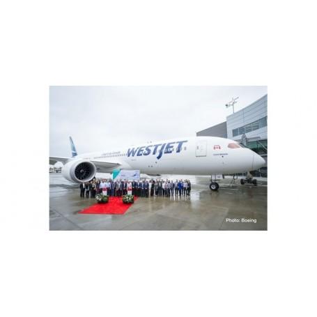 Herpa Wings 533256 Flygplan Westjet Boeing 787-9 Dreamliner - new colors