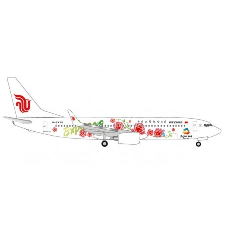 Herpa Wings 533294 Flygplan Air China Boeing 737-800 ?Beijing Expo 2019?
