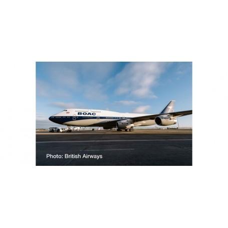 Herpa Wings 533317 Flygplan British Airways Boeing 747-400 - 100th anniversary BOAC Heritage Design