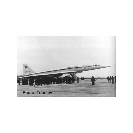 Herpa Wings 533324 Flygplan Aeroflot Tupolev TU-144S
