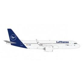 "Herpa 533386 Flygplan Lufthansa Airbus A320neo - new colors ""Rastatt"""