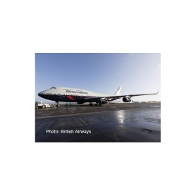 Herpa Wings 533393 Flygplan British Airways Boeing 747-400 ? 100th anniversary Landor Heritage Design ?City of Swansea?