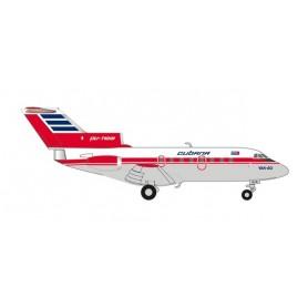 Herpa Wings 559775 Flygplan Cubana de Aviacion Yakovlev Yak-40