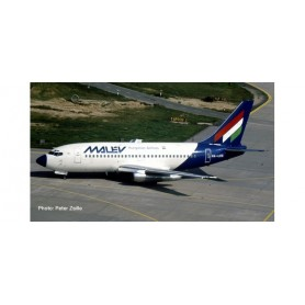 Herpa 559782 Flygplan Malév Hungarian Airlines Boeing 737-200