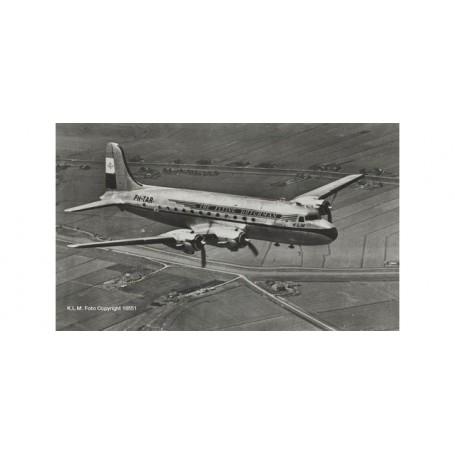 Herpa Wings 559799 Flygplan KLM Douglas DC-4 Skymaster ?Rotterdam?