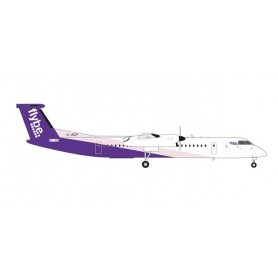 Herpa Wings 559829 Flygplan Flybe Bombardier Q400 - new colors