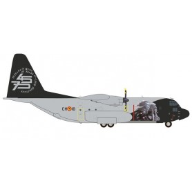 Herpa 559843 Flygplan Belgian Air Component Lockheed C-130H Hercules