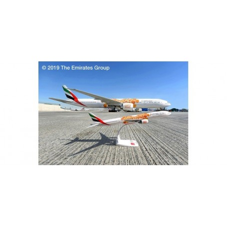 Herpa 612357 Flygplan Emirates Boeing 777-300ER ? Expo 2020 ?Opportunity? livery