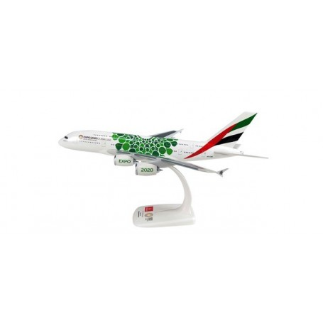 Herpa 612364 Flygplan Emirates Airbus A380 ? Expo 2020 ?Opportunity? livery