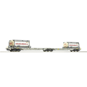 "Roco 76928 Dubbelvagn Sggmrs AG AAE ""Van den Bosch"""