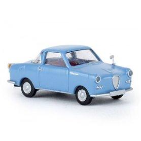 Brekina 27856 Goggomobil Coupé, pastellblå