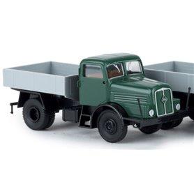 "Brekina 71199.2 Lastbil IFA Z6 ZM ""Economy"", blå med svart chassie"