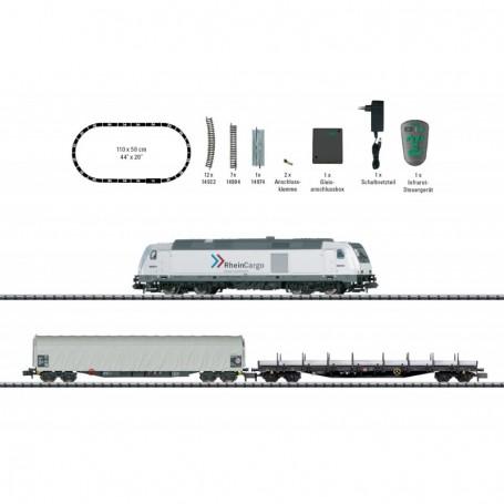 Trix 11155 Digitalt Startset 'Freight Train' 'Rhein Cargo GmbH & Co. KG'
