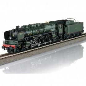 Trix 22913 Ånglok med tender klass 13 EST typ SNCF ' Simplon Orient Express'