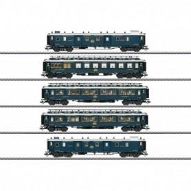 Märklin 42790 Personvagnsset typ CIWL 'Simplon Orient Express' Set 1