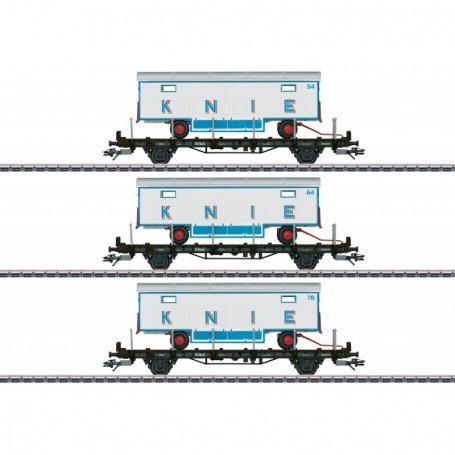 Märklin 45085 Vagnsset med 3 godsvagnar '100 Years Swiss Circus Knie'