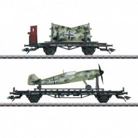 Märklin 45088 Vagnsset med 2 godsvagnar 'Airplane Transport' typ DRB