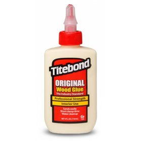 Titebond 5062 Titebond Original Aliphatic resin, trälim 118 ml på flaska med stängningsbar pip