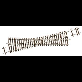 Roco 42497 Korsning, K15, 15°, längd: 230 mm