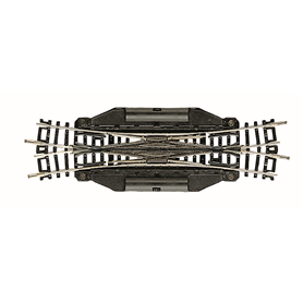 Fleischmann 22246 Elektrisk dubbel korsningsväxel