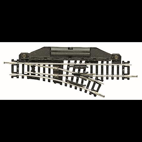 Fleischmann 22251 Elektrisk växel, höger 24°, längd 104,2 mm