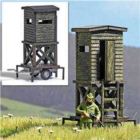 Busch 1565 Raised Hide on Wheels