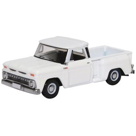 Oxford Models 130753 Chevrolet Stepside Pick Up 1965, vit
