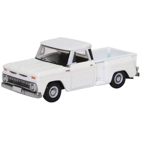 Oxford Models 130753 Chevrolet Stepside Pick Up 1965, vit