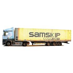 "AMW 75126 Bil & Kyltrailer MB Actros2 Stream Aero ""Samskip Coolboxx"""