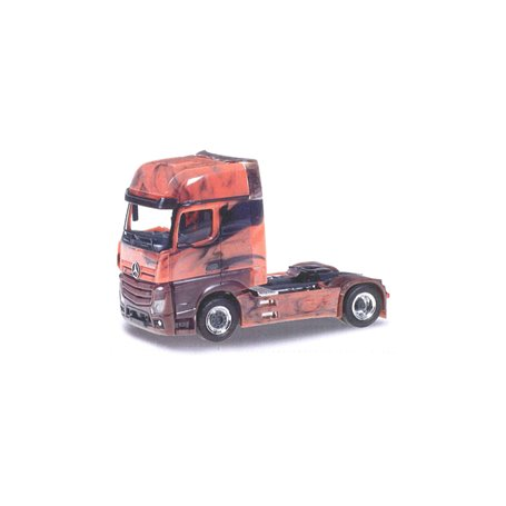 """Herpa 934978 Dragbil Mercedes Benz Actros 18 GigaSpace """"Marmor Edition"""""""