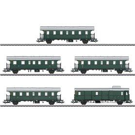 """Märklin 43141 Vagnsset med 5 vagnar typ DB """"Thunder Box"""" """"Insider 2019"""""""