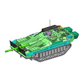 ArsenalM 119109001 Tanks Stridsvagn 103C, byggsats