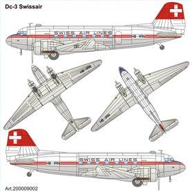 "ArsenalM 200009002 Flygplan DC-3 ""Swissair"""